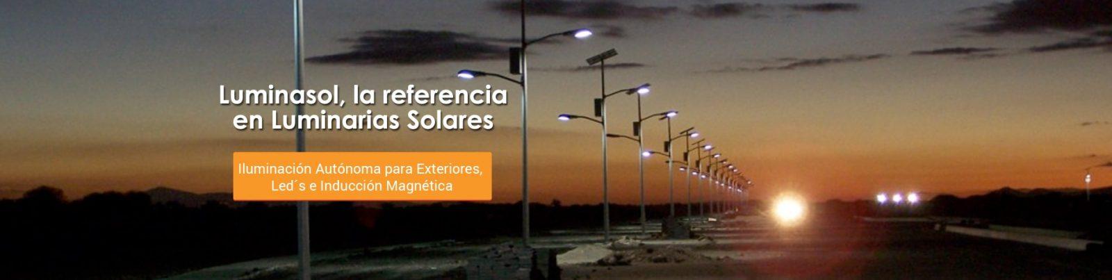 Iluminación autónoma para exteriores
