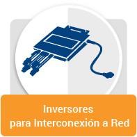 Inversores para la conexion de red