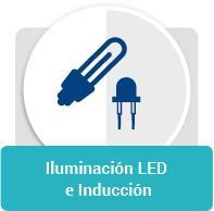 Iluminacion LED e inducción icono