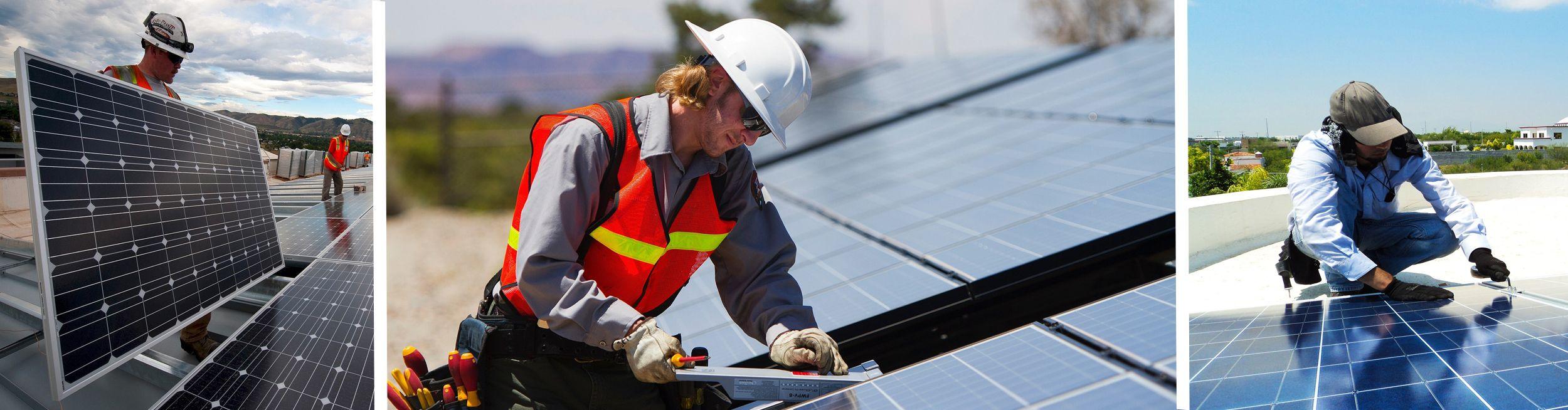 Paneles solares para negocios
